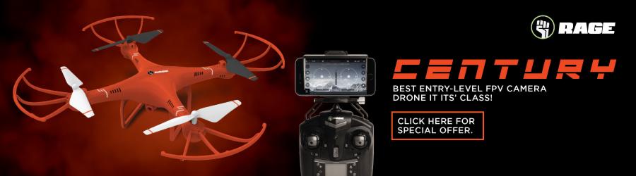 HRP Century Camera Drone 900 x 250