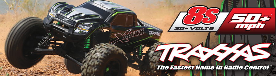 Traxxas X Maxx Green 900x250