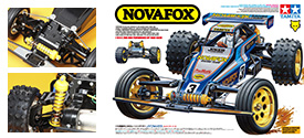 Tamiya Nova Fox 3