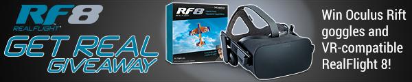 Hobbico RF8 Get Real Giveaway 600x120