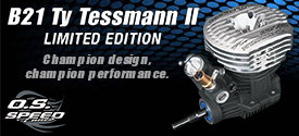 Hobbico B31 Ty Tessman 275x125