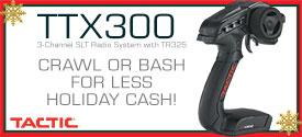Hobbico Tactic TTX300 275x125