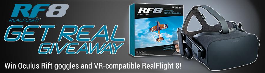 Hobbico RF8 Get Real Giveaway 900x250