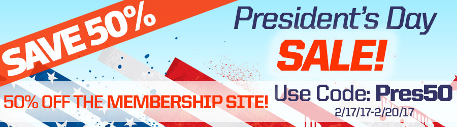 RCCA Membership Presidents Day Sale 900x250