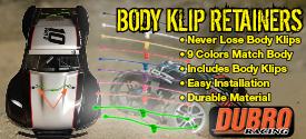 Dubro Body Klip 275x125