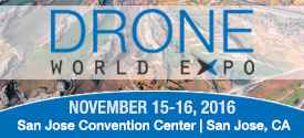 Drone World Expo 275x125